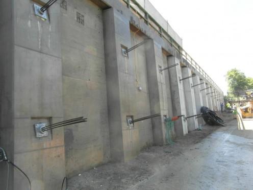 Stützwandertüchtigungen A2 Südautobahn Bild 1